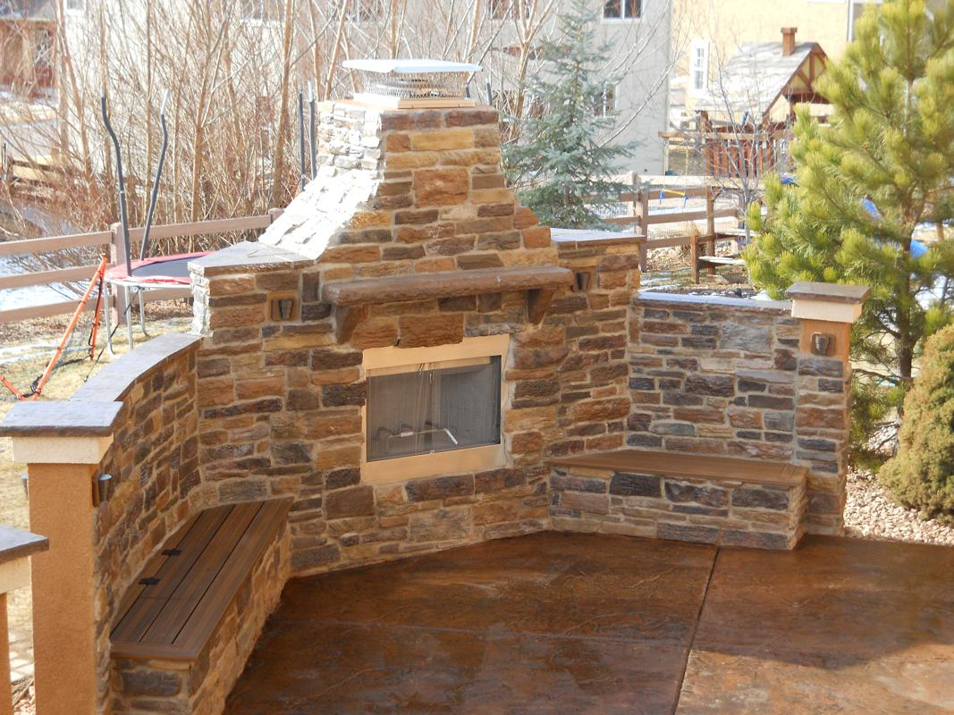 Benches And Flower Boxes Custom Deck Patio Builder Colorado Springs