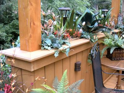 Custom Flower Boxes by Deck Works in Colorado Springs