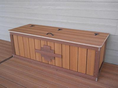 Custom Storage Box by Deck Works in Colorado Springs