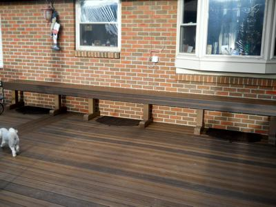 Custom Bench by Deck Works in Colorado Springs