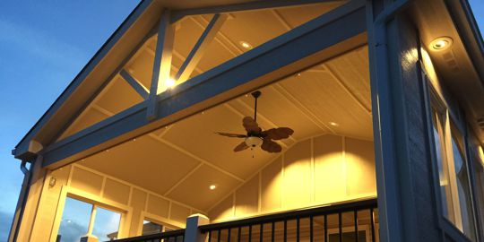 Custom Deck Covers and Ceilings by Deck Works, Colorado Springs