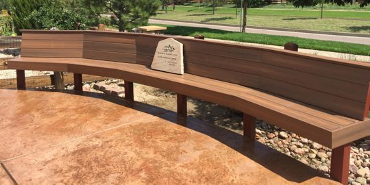 Custom Benches and Flower Boxes by Deck Works, Colorado Springs