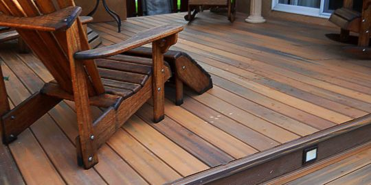 Custom Multi Level and Mosiac Floors by Deck Works in Colorado Springs