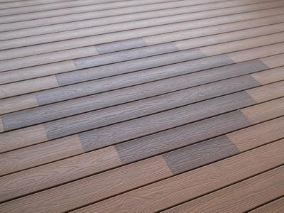 Deck Inlay with Outdoor Living by Deck Works in Colorado Springs