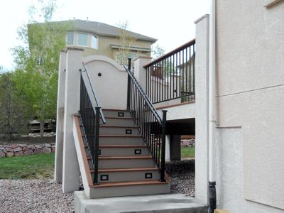 Multi Level Deck by Deck Works in Colorado Springs