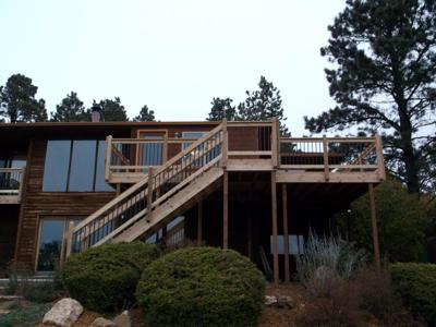Hardwood Deck by Deck Works in Colorado Springs