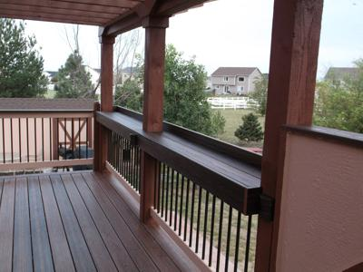 Deck with Pergola by Deck Works in Colorado Springs