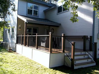 Custom Steel Railing by Deck Works in Colorado Springs
