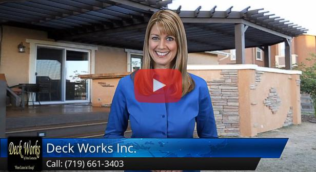 5 star customer review of Deck Works in Colorado Springs