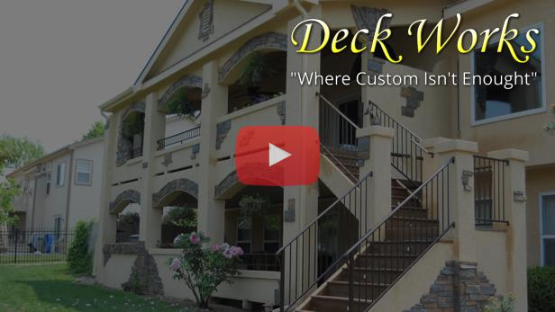 Customer reviews and deck examples from Deck Works in Colorado Springs